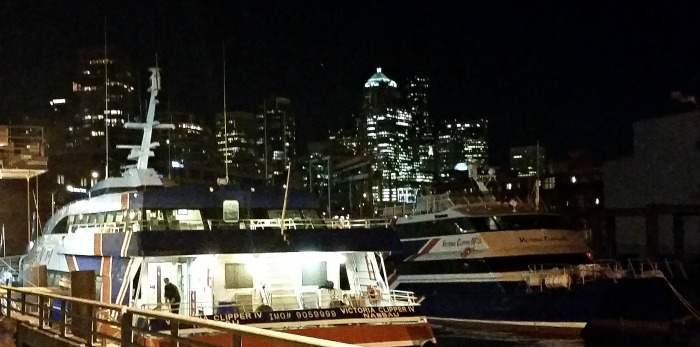 Victoria Clipper In Seattle