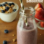 Chia Seed Recipes – Berry Banana Smoothie