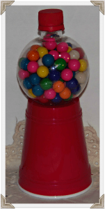 Bubble Gum Machine with Plastic Cup