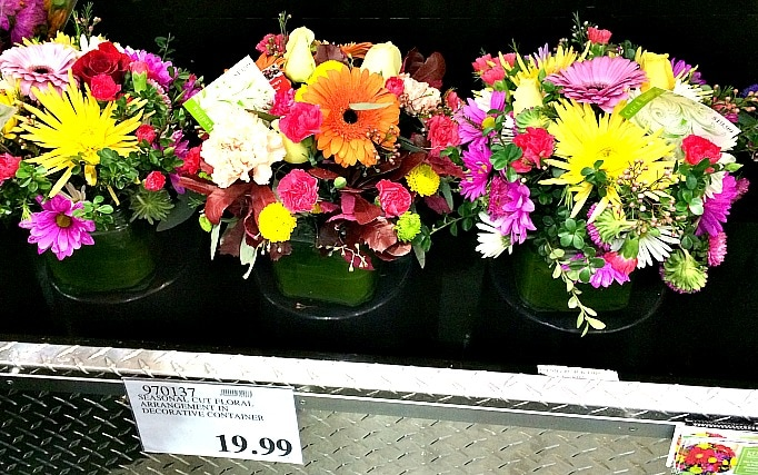 Costco Floral Arrangements for $19.99
