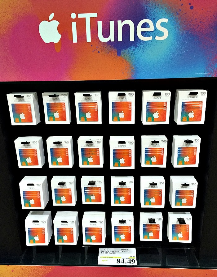 Discount iTunes Gift Cards