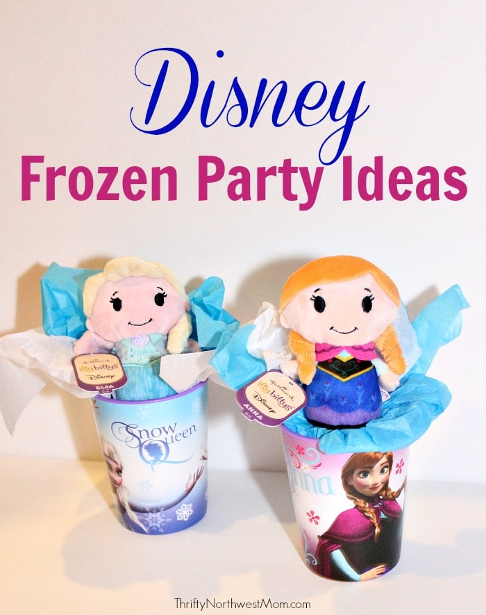 Disney Frozen Party Ideas – Food, Games, Favors with #Hallmark #IttyBittys Dolls & more!