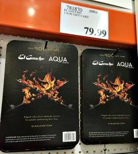 El Gaucho Discount Gift Cards
