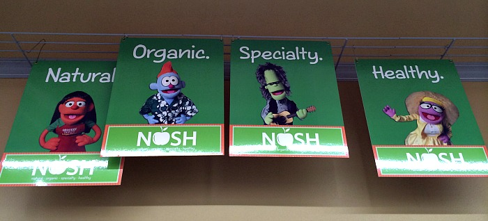 NOSH products at Grocery Outlet