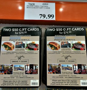 Pacific Grill Discount Gift Cards