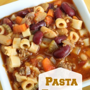 Pasta Fagioli Soup Copycat Olive Garden Recipe