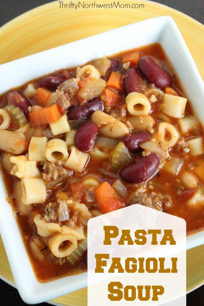 Pasta Fagioli Soup Recipe Copycat Olive Garden Recipe