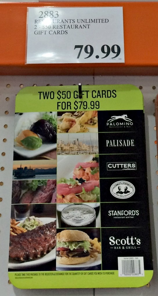 does costco have gift cards