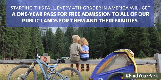 National Park Free Admission for 4th Graders