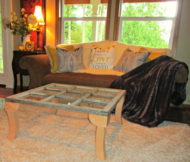 Re-purposing An Old Window Into A