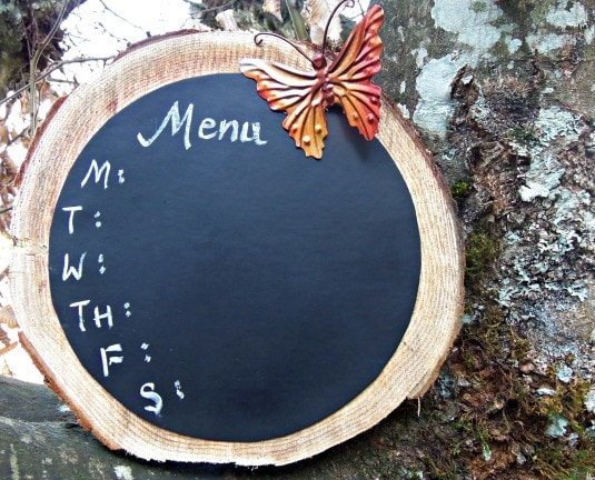 wooden chalkboard 7
