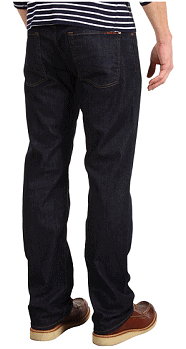 7 For All Mankind Austyn Relaxed Straight 34 in Dark and Clean