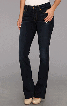 7 For All Mankind Kimmie Bootcut in Slim Illusion Merci Blue