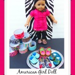 DIY Duct Tape American Girl Doll Shoes!