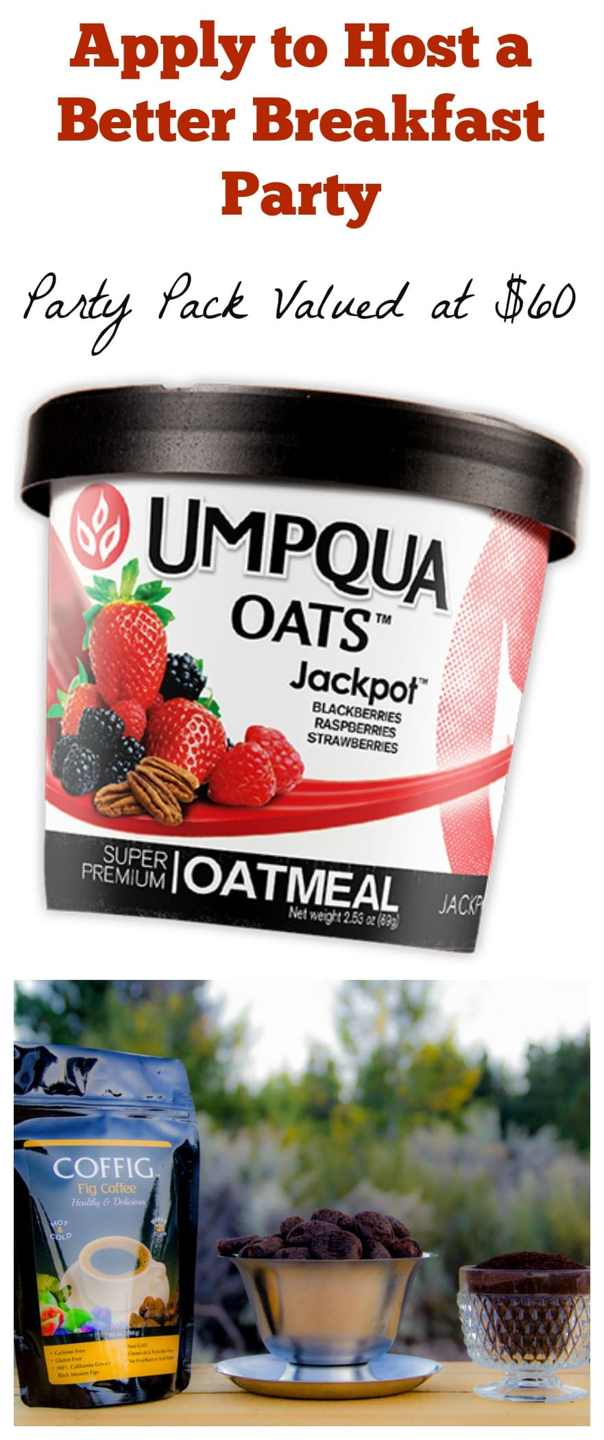 Better Breakfast Party with Umpqua Oats & Coffig