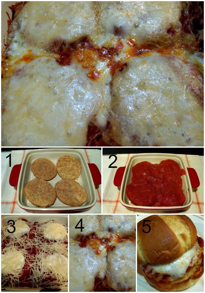 Chicken Parmesan Collage