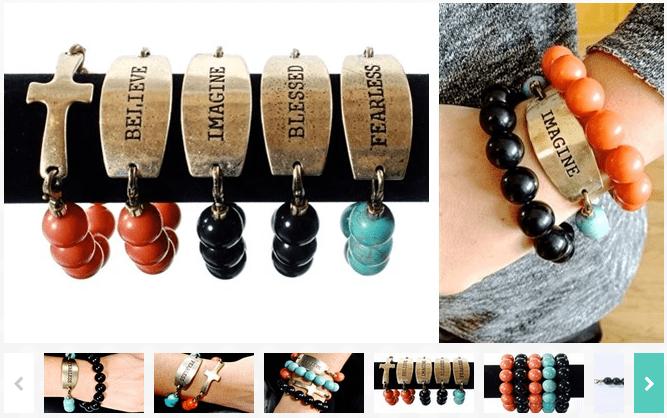 Designer Inspired Interchangeable Bracelets