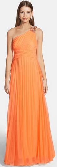 Full length promo dress