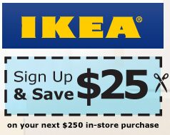 IKEA Coupon: Coupon For $20 OFF $150