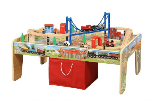 50 Piece Train Set with 2 in 1 activity table