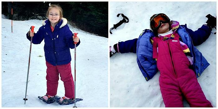 Snowshoeing Fun at Mt Rainier