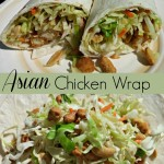 Easy Asian Chicken Wraps Recipe! 5 Ingredients Needed!
