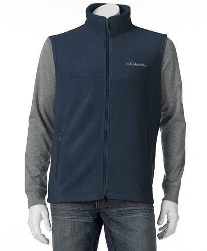 Columbia Flattop Mountain Fleece Vest $18.74!