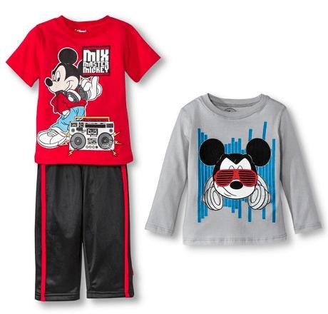 Disney Toddler Boys' Mickey Mouse 3-Piece Set