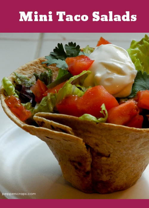 Mini-Taco-Salads