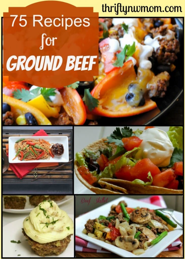Recipes for Ground Beef – 75 Recipes To Inspire You!