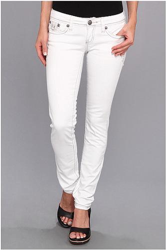 Antique Rivet Scarlette Juniors Jeans in Frost