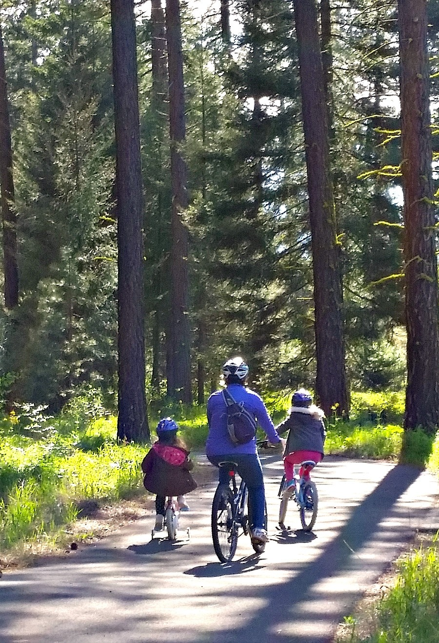 Bicycle Path around Suncadia Resort