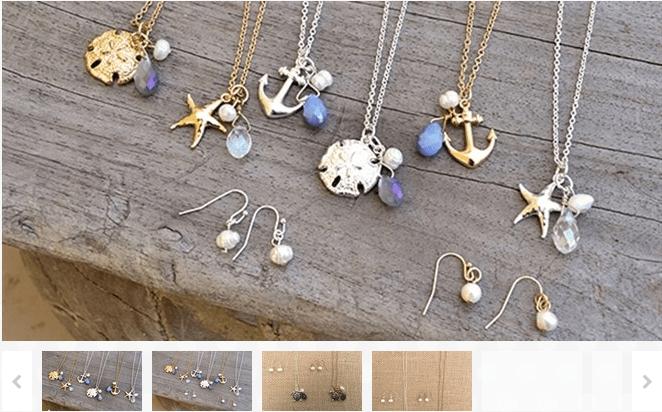 Dainty Sea Life Necklace Sets