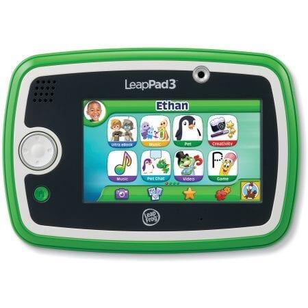LeapFrog LeapPad3 Tablet, Green $59!