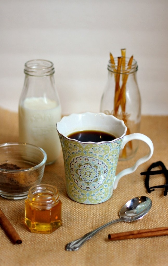 Many Uses for Honey for Beauty, Cooking & more! #BenefitsofHoney Plus Mexican Mocha Coffee Creamer Recipe!
