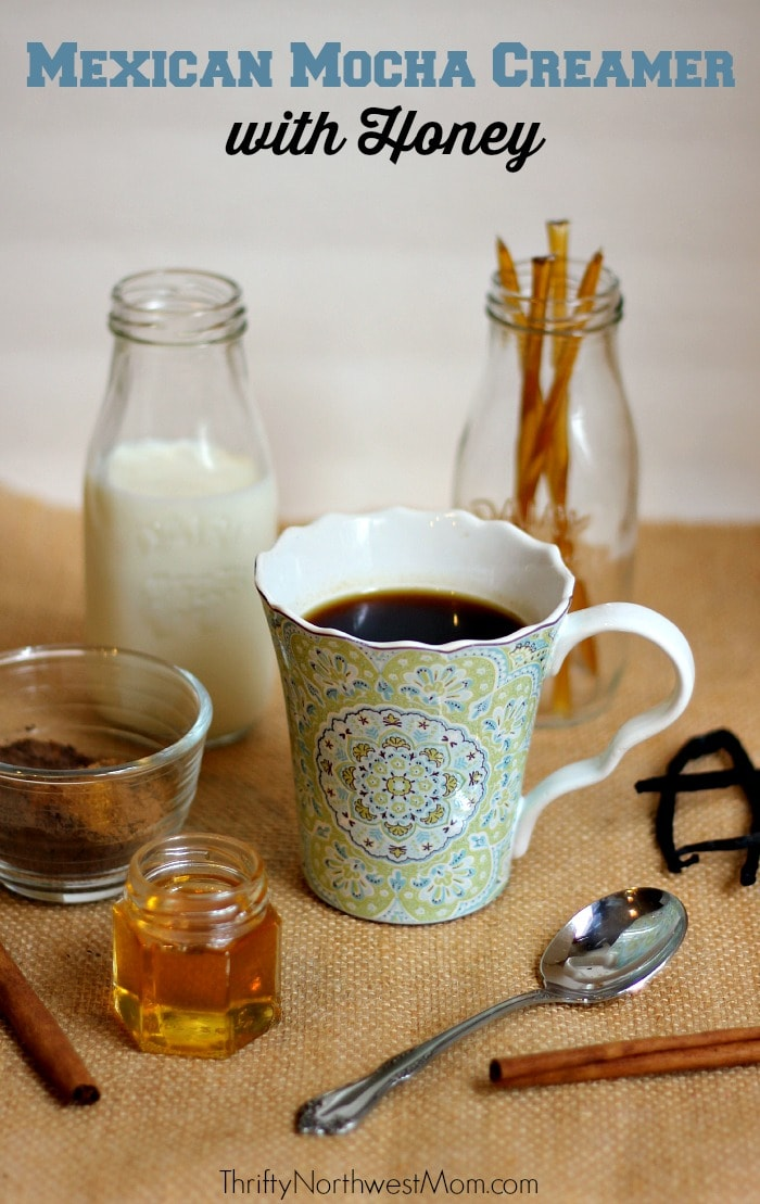 Mexican Mocha Creamer with Honey