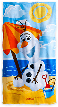 Olaf Beach Towel - Personalizable