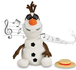 Olaf Singing Plush - Frozen - Medium