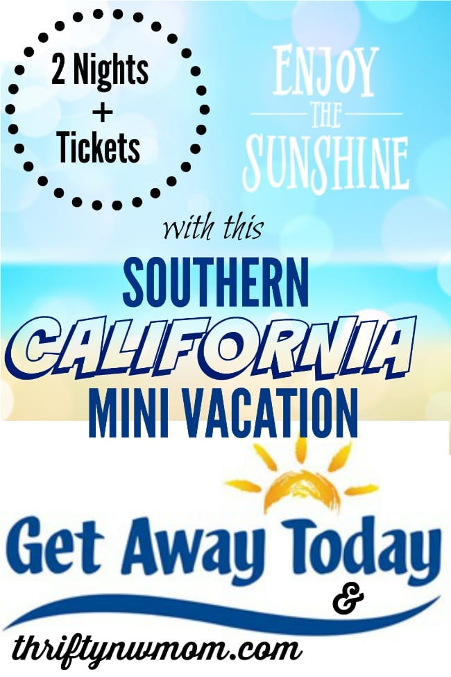 Win A Trip To Southern California (Disneyland or Sea World Tickets Included)!