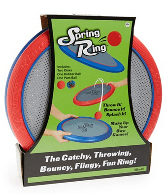 Toysmith Spring Ring Game