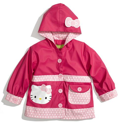 Western Chief Hello Kitty Ruffles Raincoat