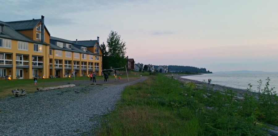 Beach at Semiahmoo Resort