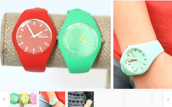Bright And Fun Candy Colored Watches