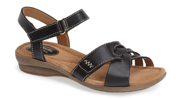 be60dd57c5da Clarks Reid Laguna Leather Sandal  35.90 Shipped!