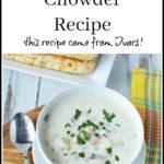 Ivars Clam Chowder Recipe (SO Good!)