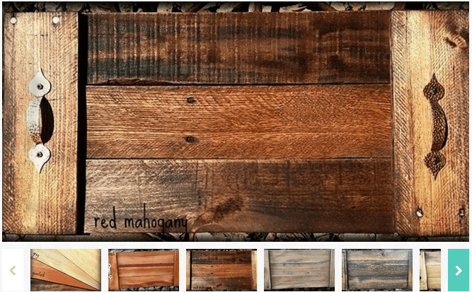 Reclaimed Wood Serving Tray - Reclaimed Wood Serving Tray $9.99!