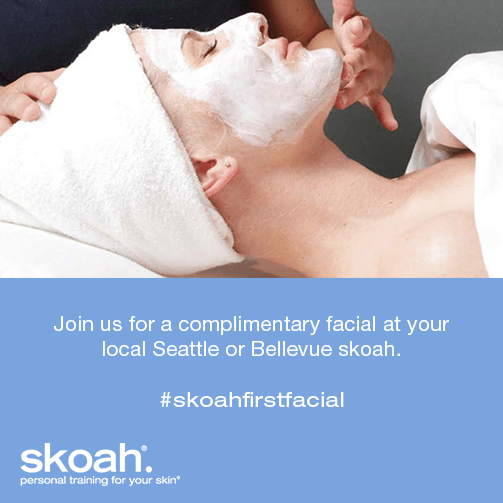 Free Facial in Seattle and Bellevue from Skoah