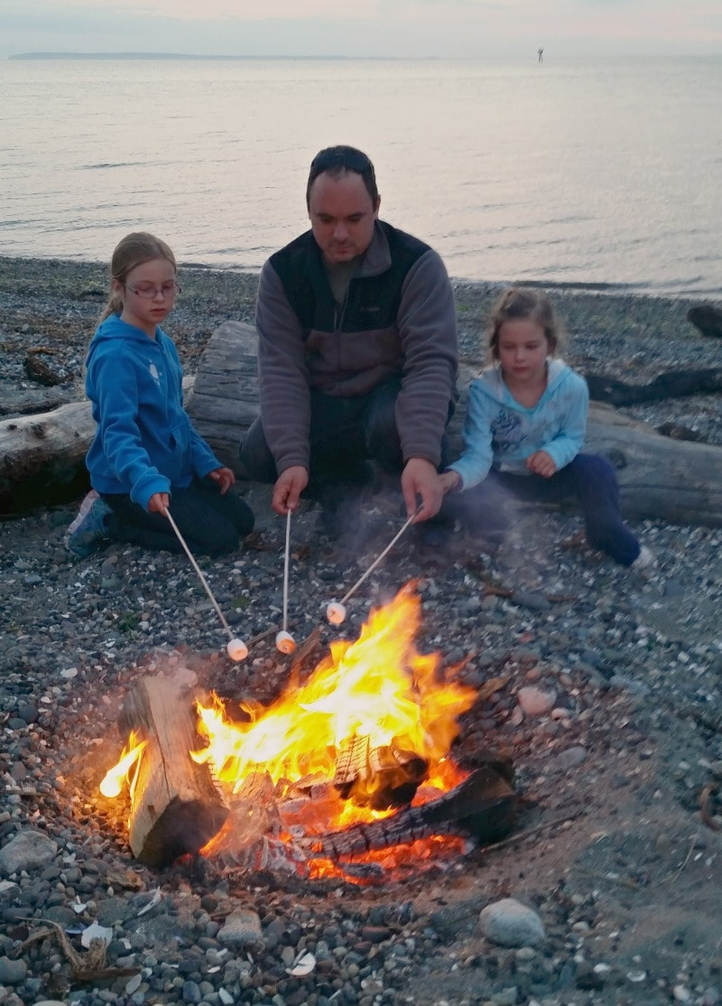 Smores on the Beach at Semiahmoo Resort
