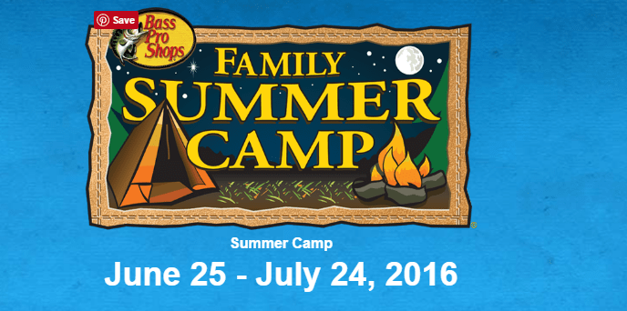 free bass pro summer camps
