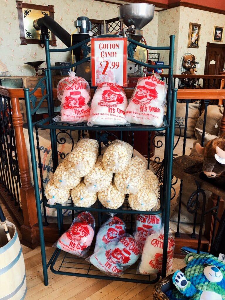snacks at Silverwood